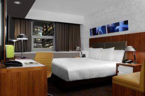Habitaciones en el Hotel Double Tree en Nueva York