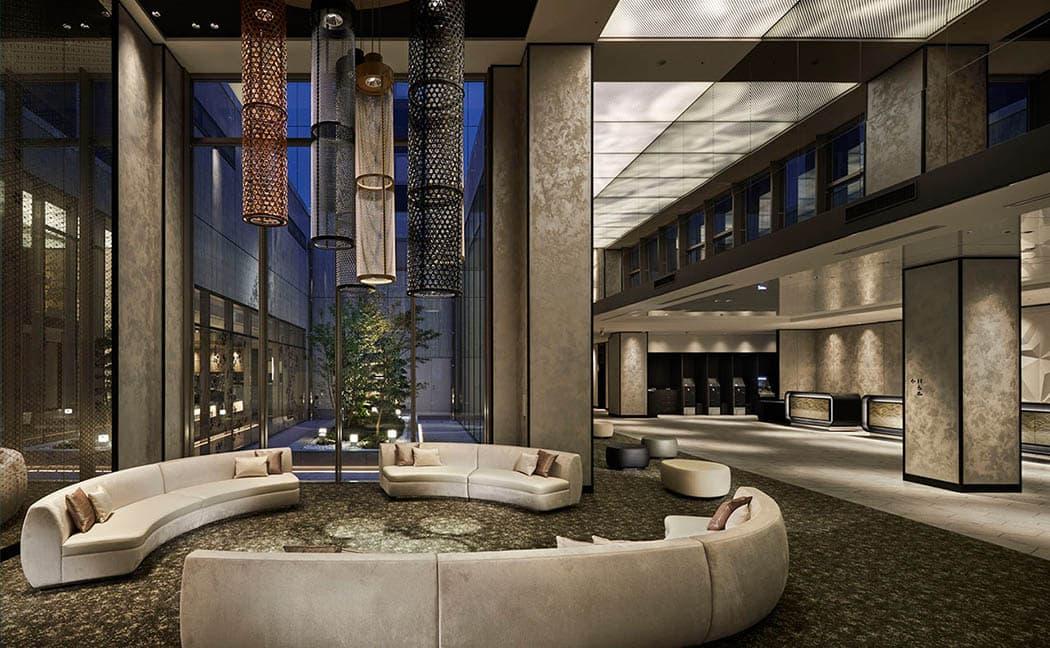 Recepción HOTEL VISCHIO KYOTO by GRANVIA