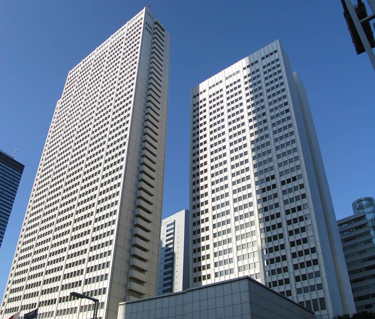 Hotel keio Plaza en Tokio, Japón