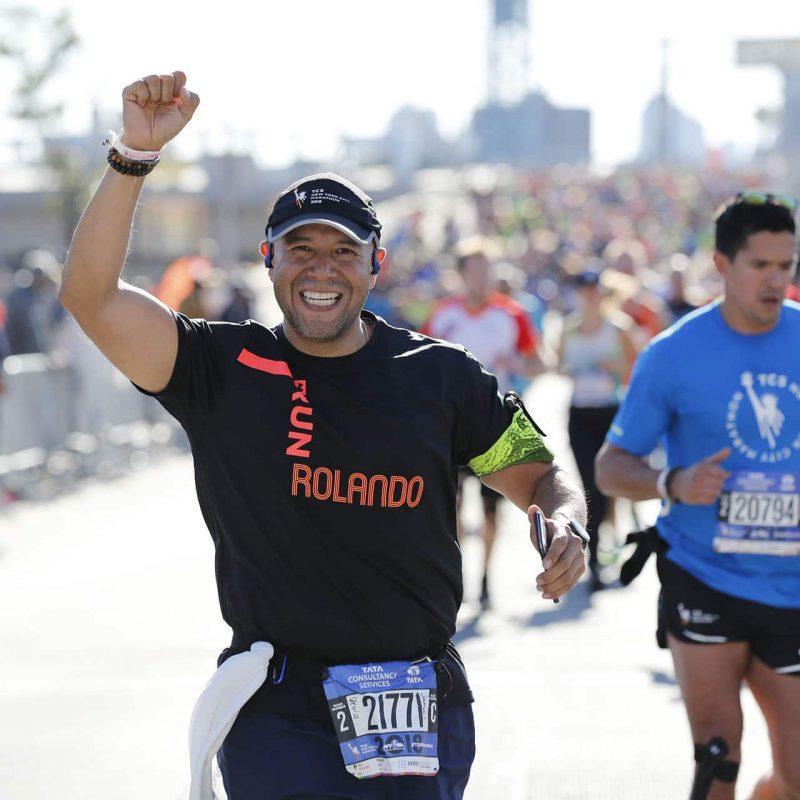 Maratonianos en Nueva York